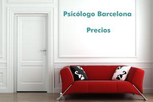 Enlace precios psicólogo Barcelona