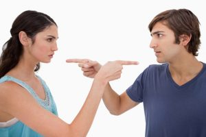 Representa una acusación mutua en una pareja